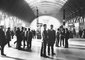 Hauptbahnhof, Frankfurt a. M., 1971. Erika Sulzer-Kleinemeier, DOMiD-Archiv