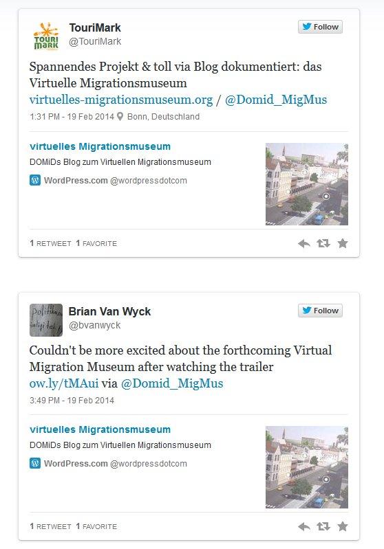 Storify - Reaktionen zum Trailer