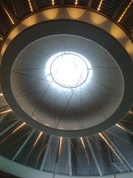 Kuppel im LWL Verwaltungsgebäude sorgte für viele Ohs und Ahs
